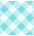Limpet Shell Blue White Diamond Chessboard vector image vector image