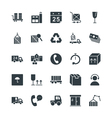 Logistic Delivery Cool Icons 3 vector image vector image