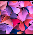 multicolor gradient abstract geometric flowers vector image vector image
