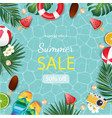 summer for banner design poster and vector image vector image