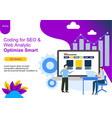web page design templates for teamwork business vector image vector image
