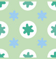 abstract geometric star dot pattern vector image vector image