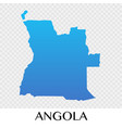 angola map in africa continent design vector image vector image
