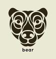 Bear Logo vector image vector image