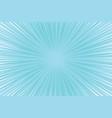 blue cool light pop art comic background vector image vector image