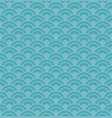 blue wave seamless pattern vector image vector image