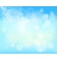 blurred background of blue sky vector image vector image
