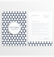 company business flyer poster template vector image vector image
