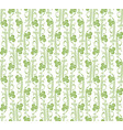 doodles and dots seamless pattern background vector image vector image