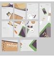 Im fond of gadgets set Flat business vector image