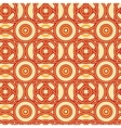 Magical celtic circles seamless pattern background vector image
