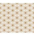 seamless pattern kumiko vector image vector image