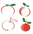Seyt of Apple Icons vector image vector image