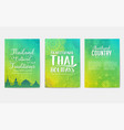 traditional style brochure pages flyer for travel vector image vector image