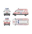 Ambulance car 1 vector image