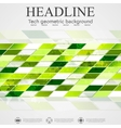 Abstract tech geometric background vector image vector image