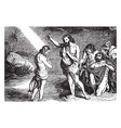 baptism of jesus by john vintage