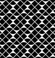 Black and white geometric abstract seamless vector image vector image