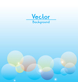 Flare Background vector image vector image