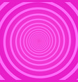 pink geometric psychedelic square background vector image