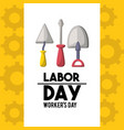profesional labor day national celebration vector image vector image