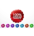 Set color badges vector image