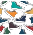 Colored gumshoes vector image vector image