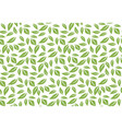 greenery leaf seamless pattern background vector image vector image
