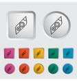 Icon Car Lights vector image