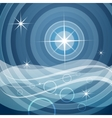 sea and stars vector image vector image