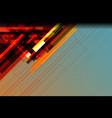 stripe background vector image vector image