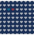 Ugly sweater for lovers vector image vector image
