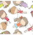 background cheerful children vector image