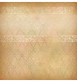 Vintage Abstract Retro Lace Banner Background vector image