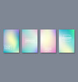 abstract pastel color template for presentation vector image vector image