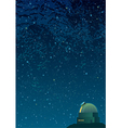 Astronomy Background vector image vector image