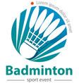 bafdminton vector image
