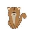 cat feline pet vector image