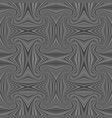 grey seamless abstract hypnotic swirl stripe vector image vector image