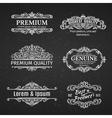 Vintage Banners Labels Frames vector image vector image