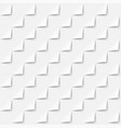white abstract background 3d paper style seamless vector image