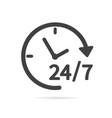 24-7 service icon