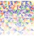 abstract background consisting triangles vector image vector image