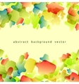 abstract background of colored spots vector image vector image