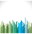 abstract green and blue cityscape stock vector image vector image