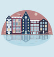cityscape in vector image