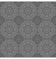 seamless background with a circular pattern vector image vector image