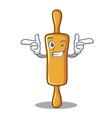 wink rolling pin character cartoon vector image vector image