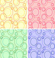 4 textures set vector image vector image