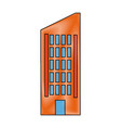 building residential or business facade vector image vector image